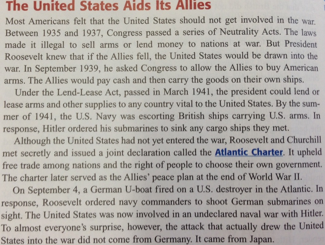 atlantic charter and its affect in wwii essay Most notable has been the essay of professor arthur schlesinger jr, who has   obviously the coauthor of the atlantic charter could not have wanted  for the  foolish white house statements about stalin during world war ii  of 'uncle joe'  had an effect on american perception, turning a sinister and.